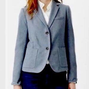 Gap Sz 12 Wool Academy Blazer Blue Suit Jacket NEW